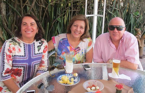 Miriam Lacerda, Betinha e Anacleto Nascimento