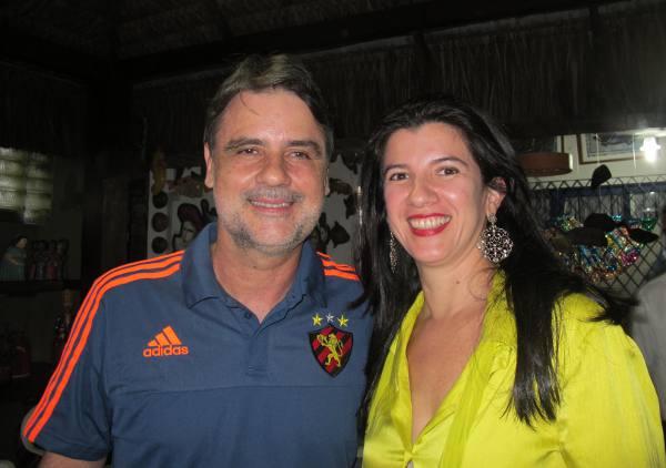 Raul Henry e Luiza Nogueira