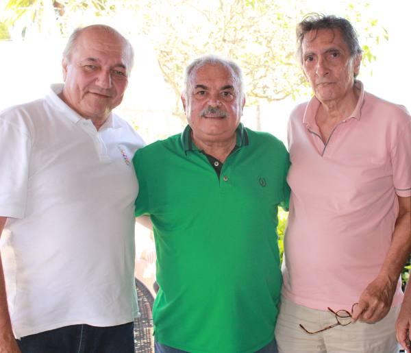 Roberto Pandolfi, Ricardo Costa e João Câmara
