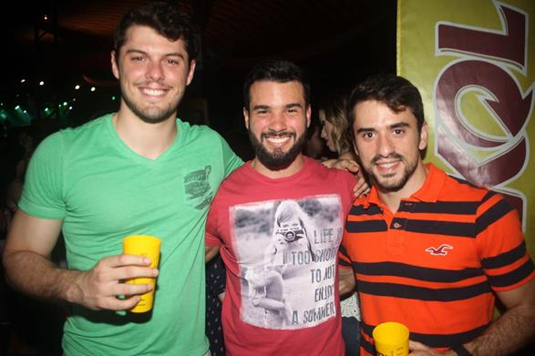 Rafael Maia, Lucas Munhos e Roberto Maia -  Crédito: Vinicius Ramos/ Vagalume Comunicação