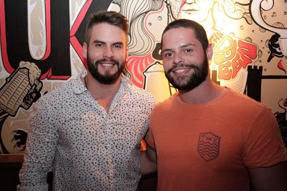 Harlan Gadelha e Guilherme Barreto. Crédito: Vito Sormany/Divulgação