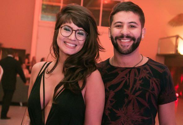 Thais Dutra e Caio e Remígio - Crédito: Tatiana Sotero/DP/D.A Press