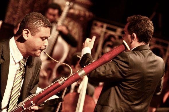 O fagotista Josias Bezerra. Crédito: Divulgação