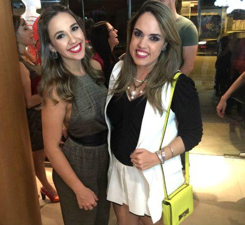 Paula D'Albuquerque e Rapha Torres. Crédito: Vitória Maciel/Divulgação