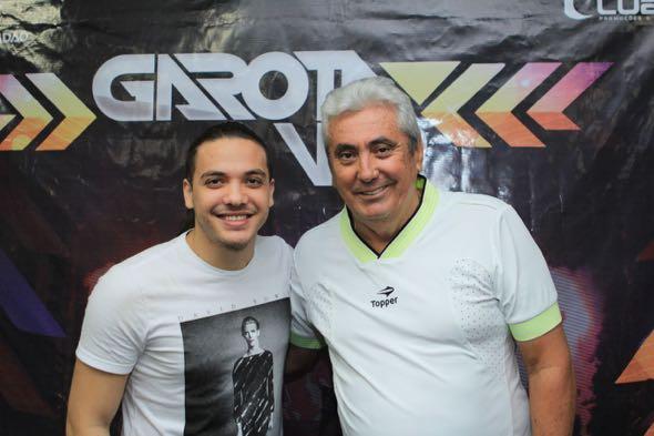 Wesley e Antonio Gonçalves. Crédito: Luiz Fabiano / Divulgação