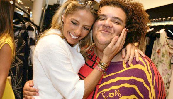 Adriane Galisteu  foi a primeira pessoa que acreditou no talento de Gominho - Crédito: Leo Franco/Divulgação