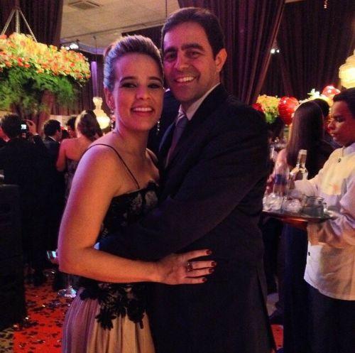 Rafaella Suassuna e Daniel Claro, Crédito: Acervo Pessoal