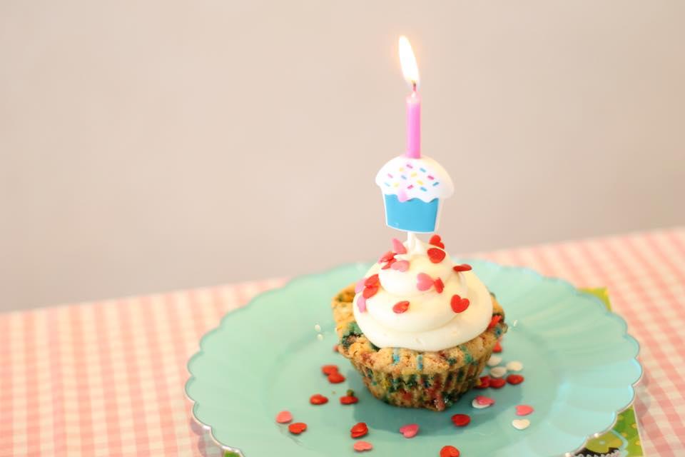 Cupcake ensinado no primeiro vídeo Créditos: Flavia Falcão/Divulgação