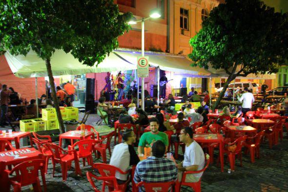 Bar Sushi Digital, no Recife Antigo. Crédito: Divulgação
