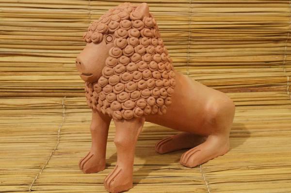 Leão do Mestre Nuca/Divulgação