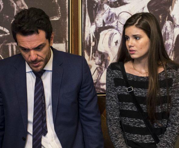 Rodrigo Lombardi e Camila Queiroz - Crédito: Estevam Avellar/Gshow