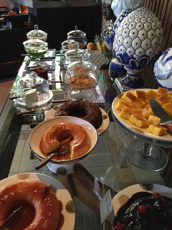 A irresistível mesa de doces