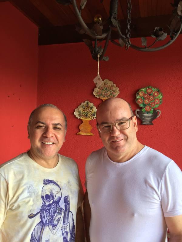 Aurélio Rodrigues e Márcio Costa