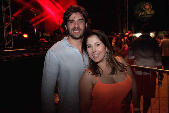 Rodrigo Tolentino e Mariana França Creditos: Vito Sormany/ Moove Comunicação