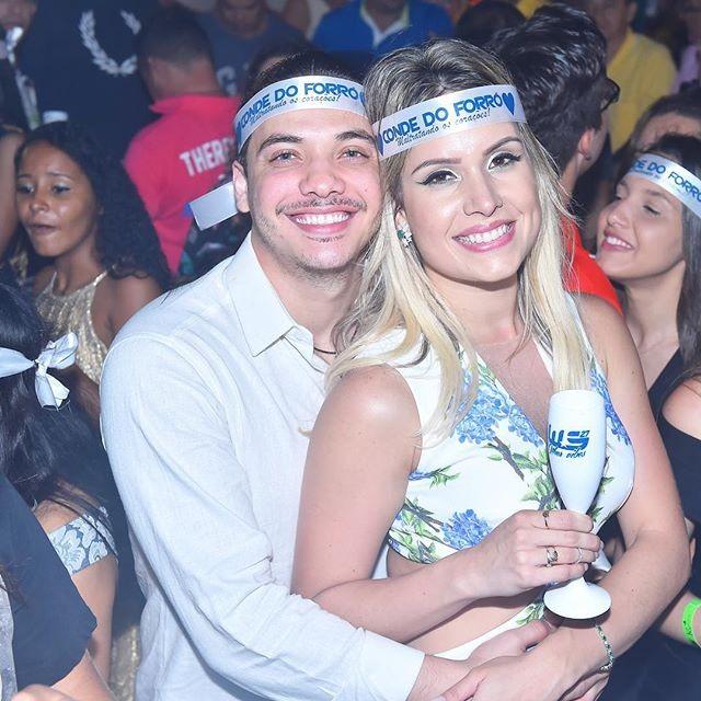 Wesley Safadão e Thyane Dantas -  Crédito: Reprodução do Instagram