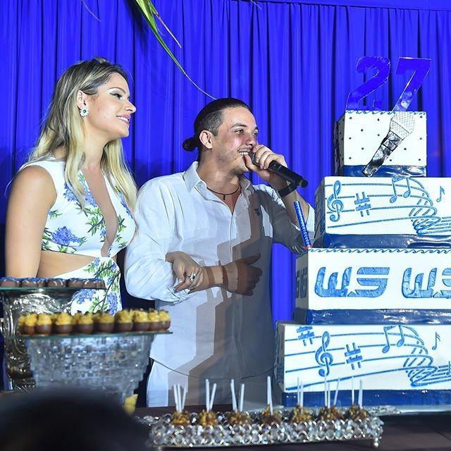 Wesley Safadão comemora aniversário com festão no Ceará ao lado de familiares e amigos - Crédito: Reprodução do Instagram