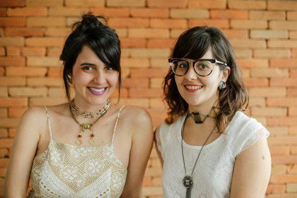 Juliane Miranda e Amanda Braga. Crédito: Andréa Rêgo Barros/Divulgação