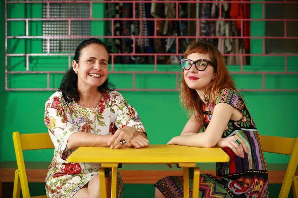 Mirian Siqueira e Gabi Fonseca Créditos: Divulgação
