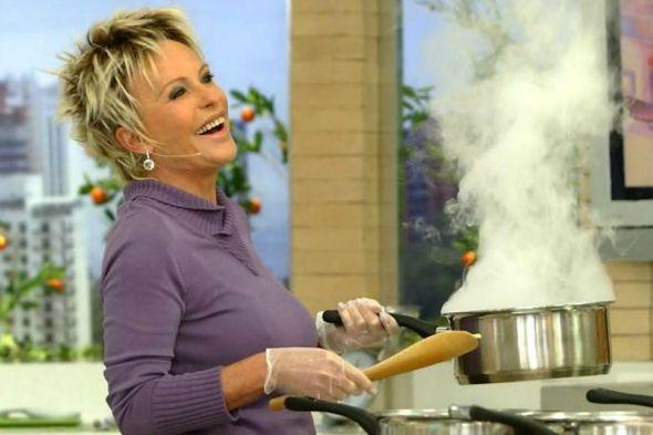 Ana Maria Braga lança livro de culinária - Crédito: TV Globo/Divulgação