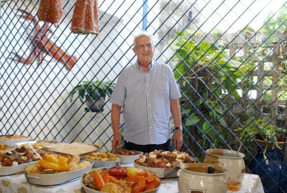 Jarbas vai preparar o famoso cozido na sua casa no Janga - Crédito:Nando Chiappetta/DP/D.A Press