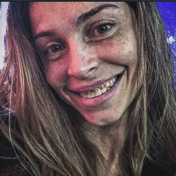 Caracterização de Grazi Massafera para interpretar a personagem Larissa - Crédito: Divulgação/TV Globo