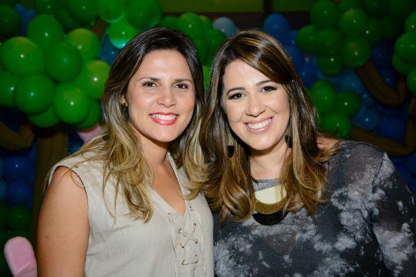 Darllen Gomes e Juliana Salvador. Crédito: Tramela Multimídia
