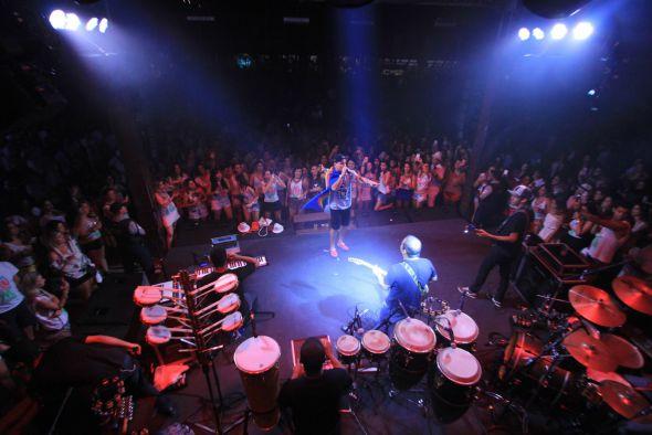 Thiago Martins surpreendeu com seu show. Foi a primeira vez que o global se apresentou no Recife - Crédito: Luiz Fabiano/Divulgação