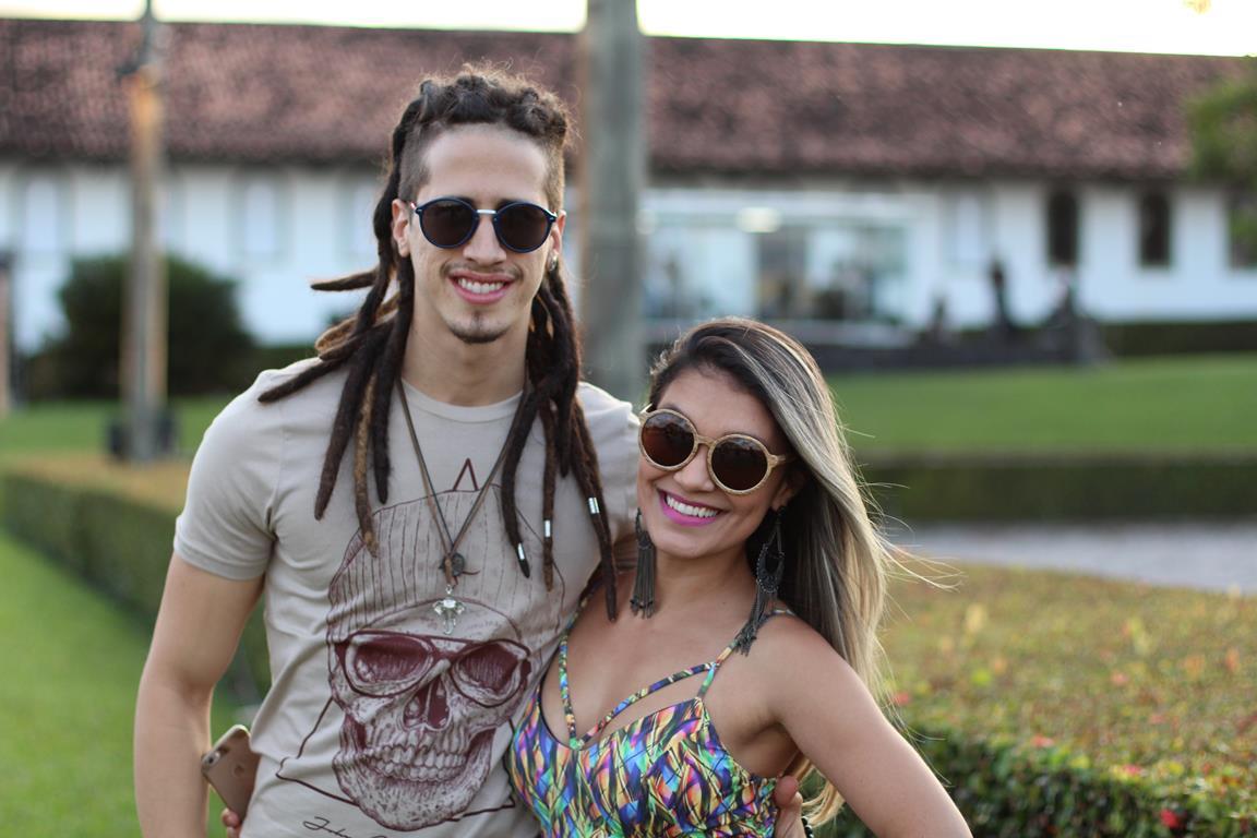 Diogo Viana e Nathalia Monique  Créditos: Fernando Queiroz/Divulgação