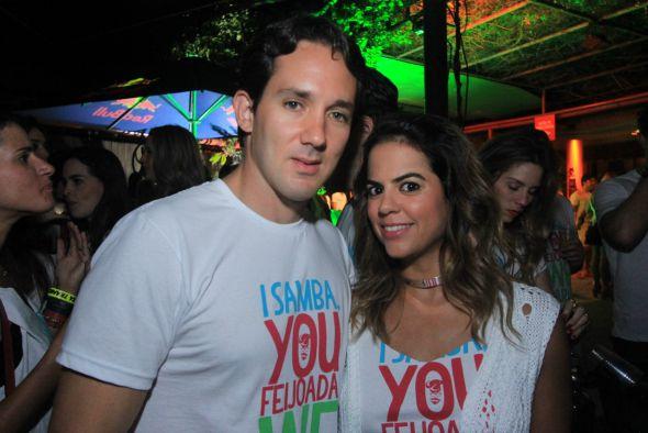 Fabio Corte Real e Manuela Tenorio