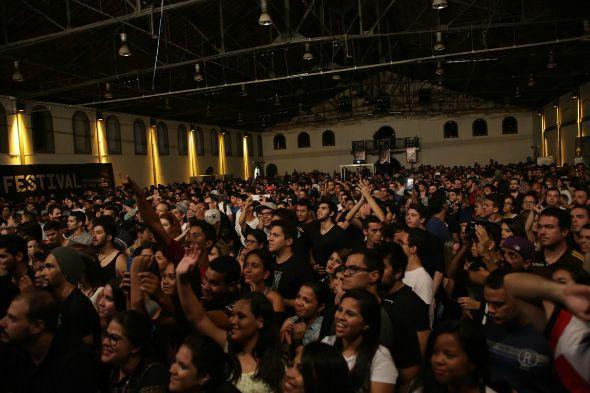Uma multidão aproveitou os shows do festival  Créditos: Celo Silva/Vagalume Comunicação