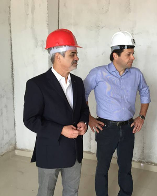 Humberto Costa e Geraldo Julio/PR/Divulgação