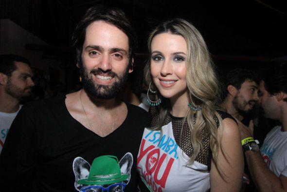 Jorge Peixoto e Bruna Monteiro