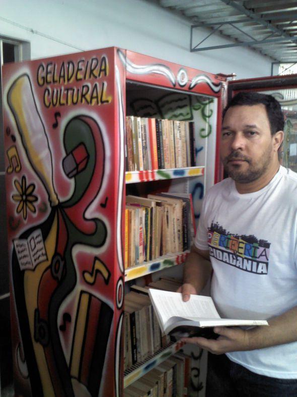 Sérgio Dantas é o responsável pela criação das geladeiras Créditos: DIvulgação