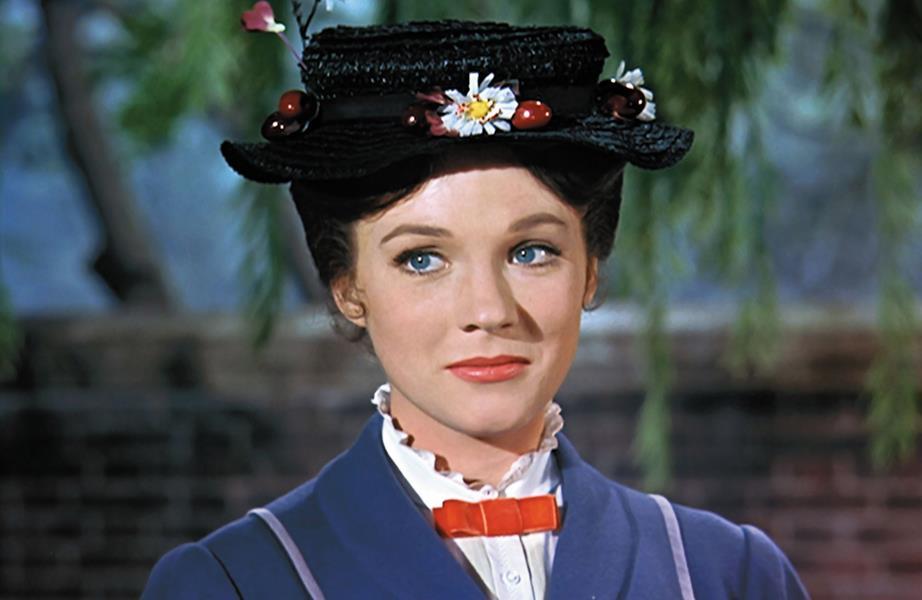 A atriz Julie Andrews deu vida a babá Mary Poppins Créditos: Reprodução Internet
