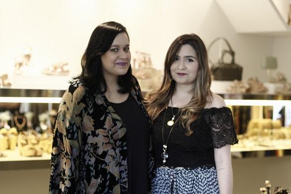 Ana Parisi e Daniela Tavares. Crédito: Raquel Melo/divulgação