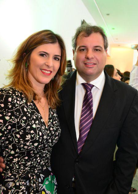 Cláudia e Alberto Ferreira da Cosa Júnior. Crédito: Giovanni Chamberlain/Divulgação