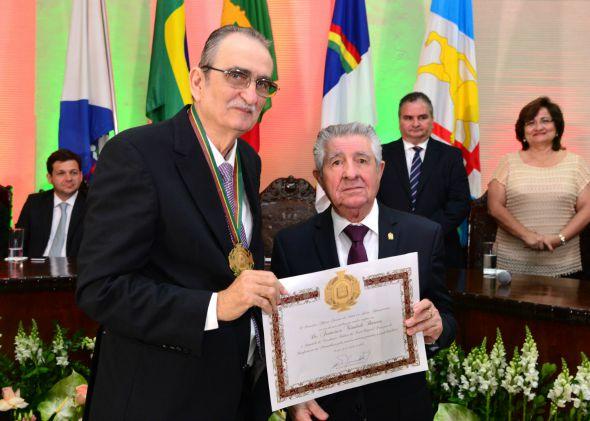 Dr Chicão e Alberto Ferreira da Costa. Crédito: Giovanni Chamberlain/Divulgação