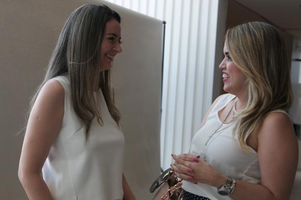 As blogueiras Valesca Britto e Raphaella Torrres - Crédito: Tatiana Sotero/DP/D.A Press