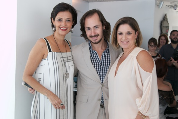 Carol Cavalcanti, André Viana e Ana Cecília Santos - Crédito: Tatiana Sotero/DP/D.A Press