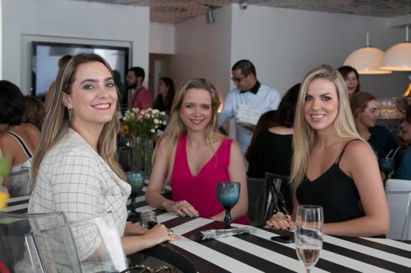 Luciana Maia, Florinda da Fonte e Manuela Gonçalves - Crédito: Tatiana Sotero/DP/D.A Press