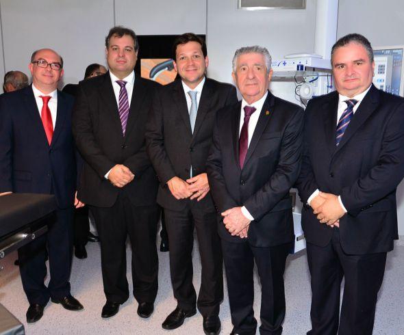 Jaison Correia, Alberto Júnior, Geraldo Julio, Alberto Ferreira da Costa, José Iran. Crédito: Giovanni Chamberlain/Divulgação