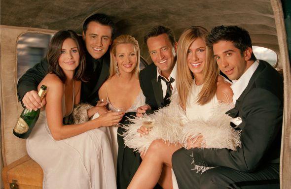 """Atores do seriado """"Friends"""". Crédito: Reprodução Facebook"""
