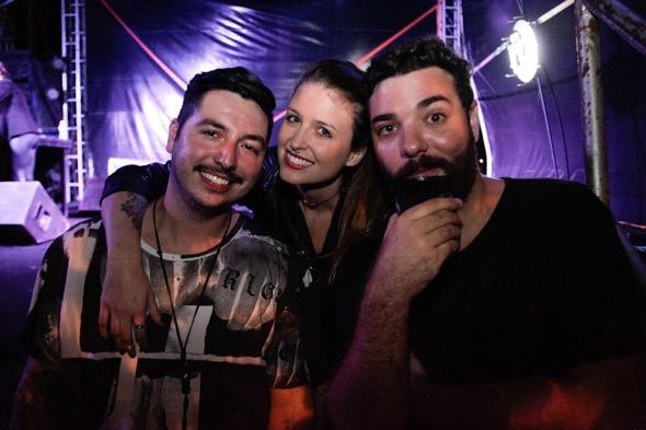 Drunky Daniels e Lúcio Morais. Crédito: Vitor Sormany / Divulgação