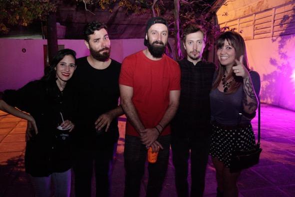Luciana Neiva, Lúcio Morais e Fernando Marx. Crédito: Vitor Sormany / Divulgação