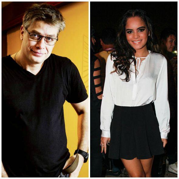 Fábio Assunção e Carol Macedo são o novo casal do mundo dos famosos Créditos: Reprodução Internet