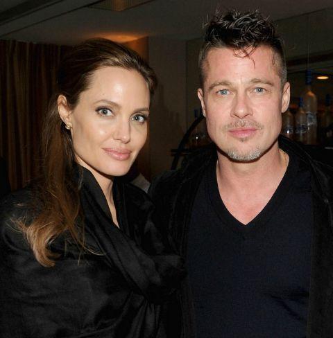 Angelina Jolie e Brad Pitt. Crédito: Reprodução Instagram