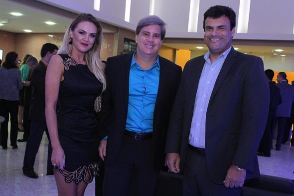 Eliza Stoski, Marcelo Santos e Alano Vaz Credito: Nando Chiappetta/DP/D.A Press