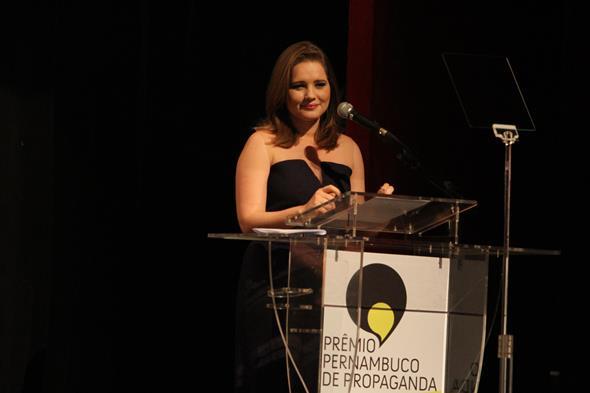 Priscila Assis, da TV Clube, foi uma das apresentadoras  Credito: Nando Chiappetta/DP/D.A Press