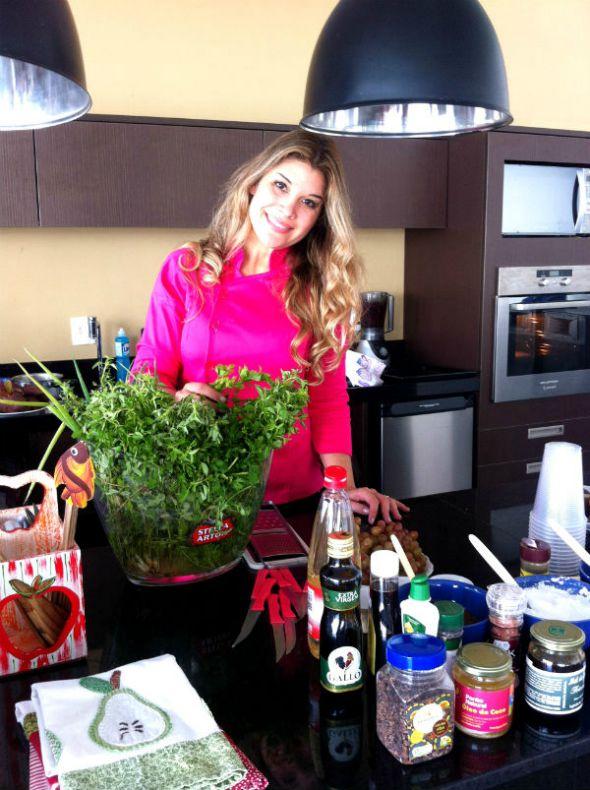 Alana Rox vai falar sobre culinária vegana e funcional Créditos: Divulgação