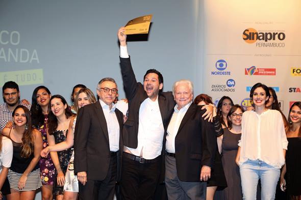 Ricardo Rique, um dos donos da Casa Comunicação, durante entrega dos prêmios de sua agência Créditos: Divulgação